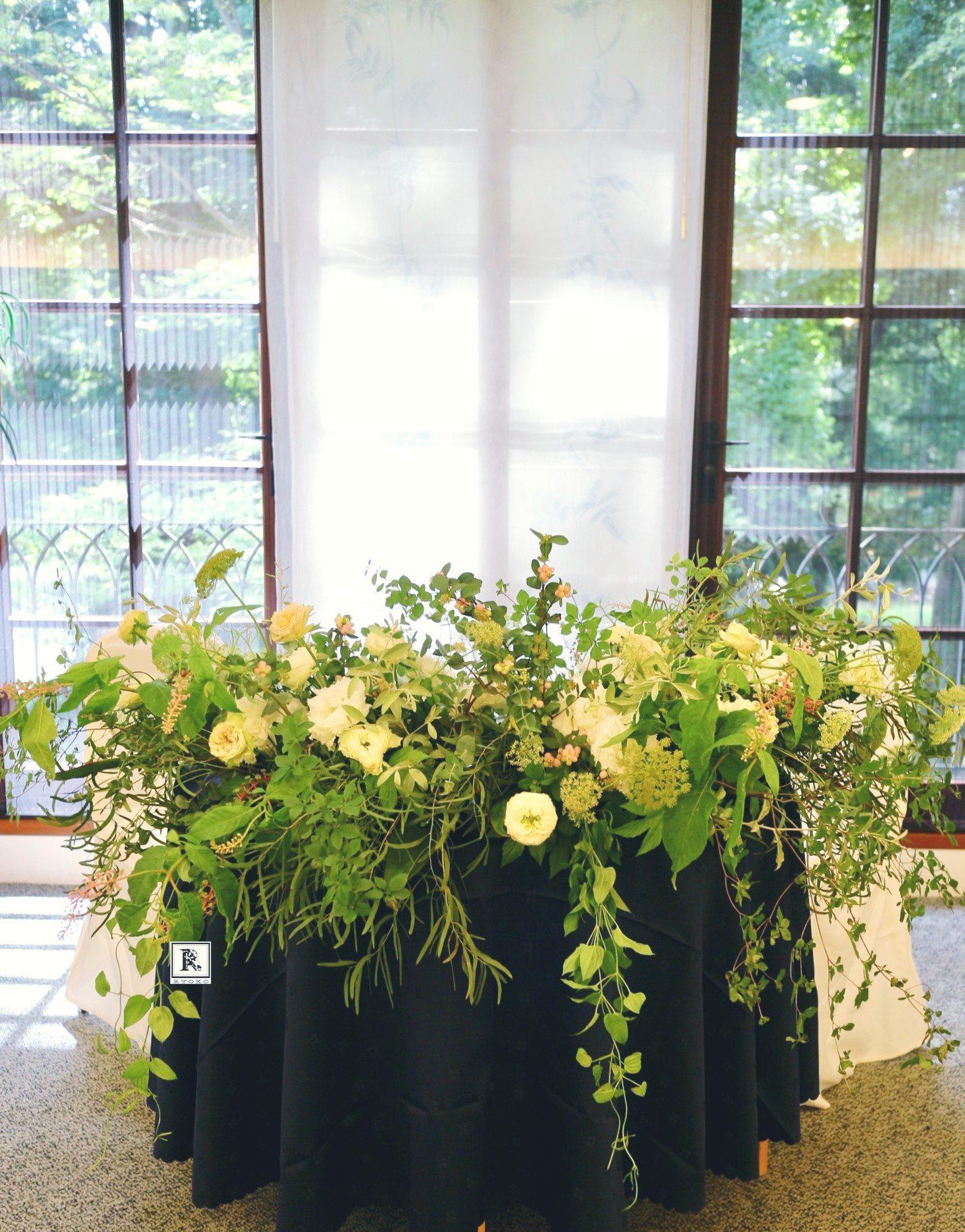 Wedding Bouquet & Flowers 2019.9.T様 _c0128489_14535001.jpg
