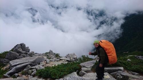 2019.9.4 常念岳登山!_a0236914_10245752.jpg