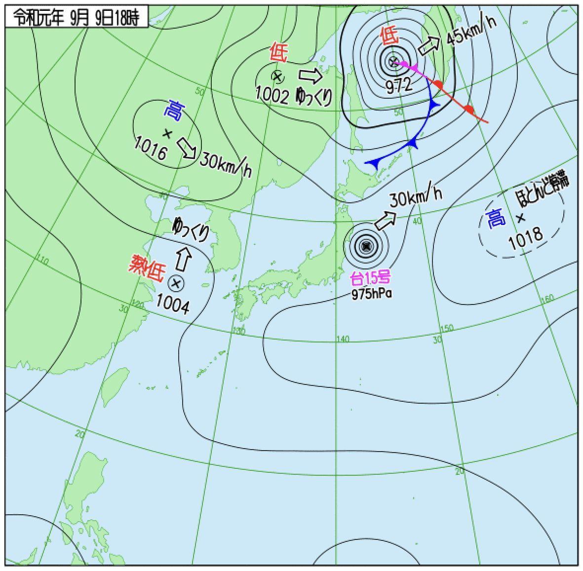 台風は東の海上へ_c0025115_22320571.jpg