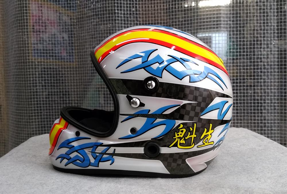 アライヘルメット謹製、競艇用のカーボンヘルメット入庫。その3、完成。_d0130115_13153129.jpg