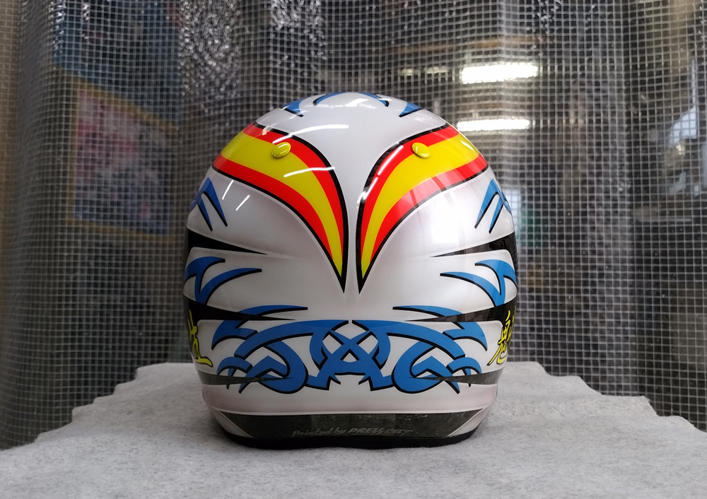 アライヘルメット謹製、競艇用のカーボンヘルメット入庫。その3、完成。_d0130115_13381564.jpg