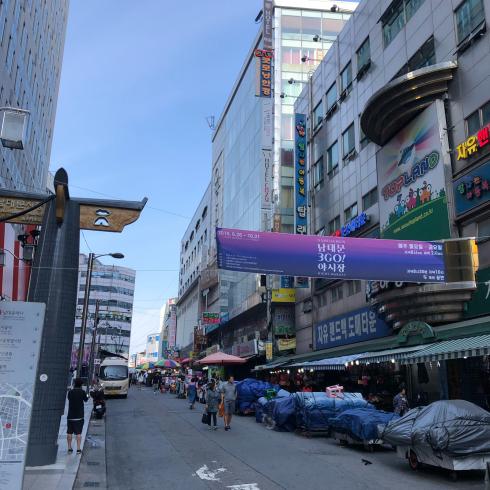 19年8月ソウル その9☆日曜の朝さんぽは南大門_d0285416_19541230.jpg