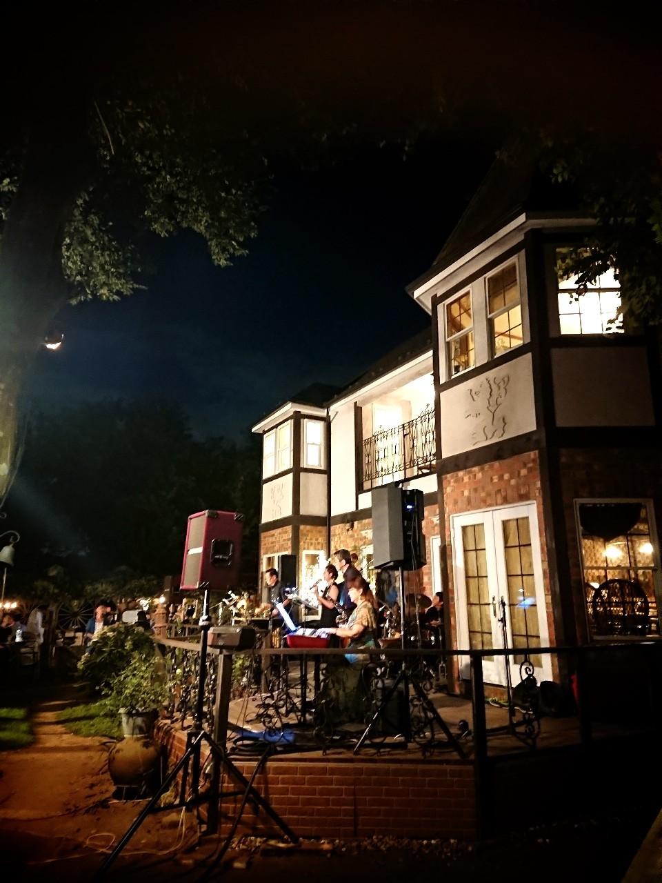 青山邸「Summer Night Jazz」_f0323446_10092838.jpg