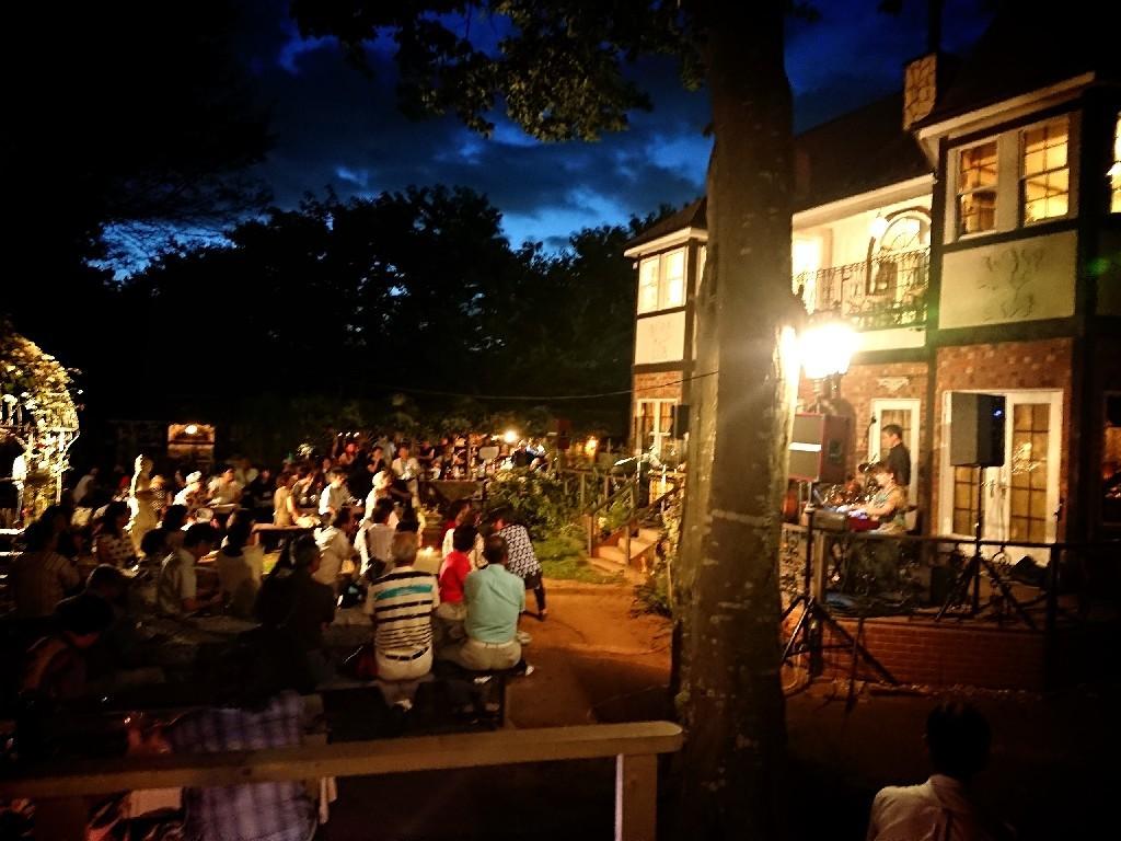 青山邸「Summer Night Jazz」_f0323446_10213107.jpg