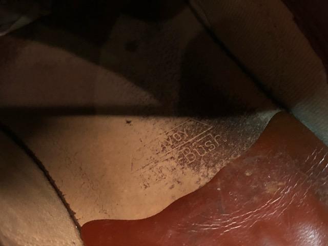 9月11日(水)マグネッツ大阪店ヴィンテージ入荷!!#4  Boots & LeatherShoes編!! RED WING#767 & U.S.A.A.F ServiceShoes、NOS!!_c0078587_15182742.jpg