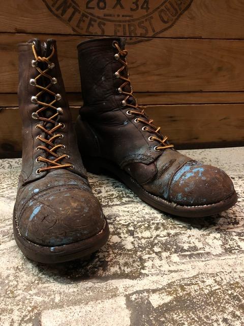 9月11日(水)マグネッツ大阪店ヴィンテージ入荷!!#4  Boots & LeatherShoes編!! RED WING#767 & U.S.A.A.F ServiceShoes、NOS!!_c0078587_1571436.jpg