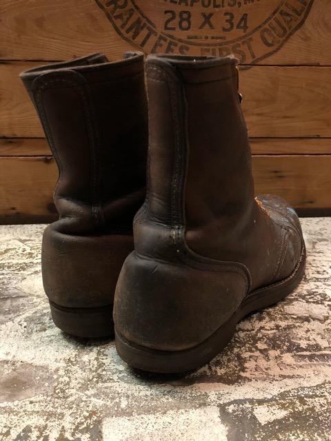 9月11日(水)マグネッツ大阪店ヴィンテージ入荷!!#4  Boots & LeatherShoes編!! RED WING#767 & U.S.A.A.F ServiceShoes、NOS!!_c0078587_1581944.jpg