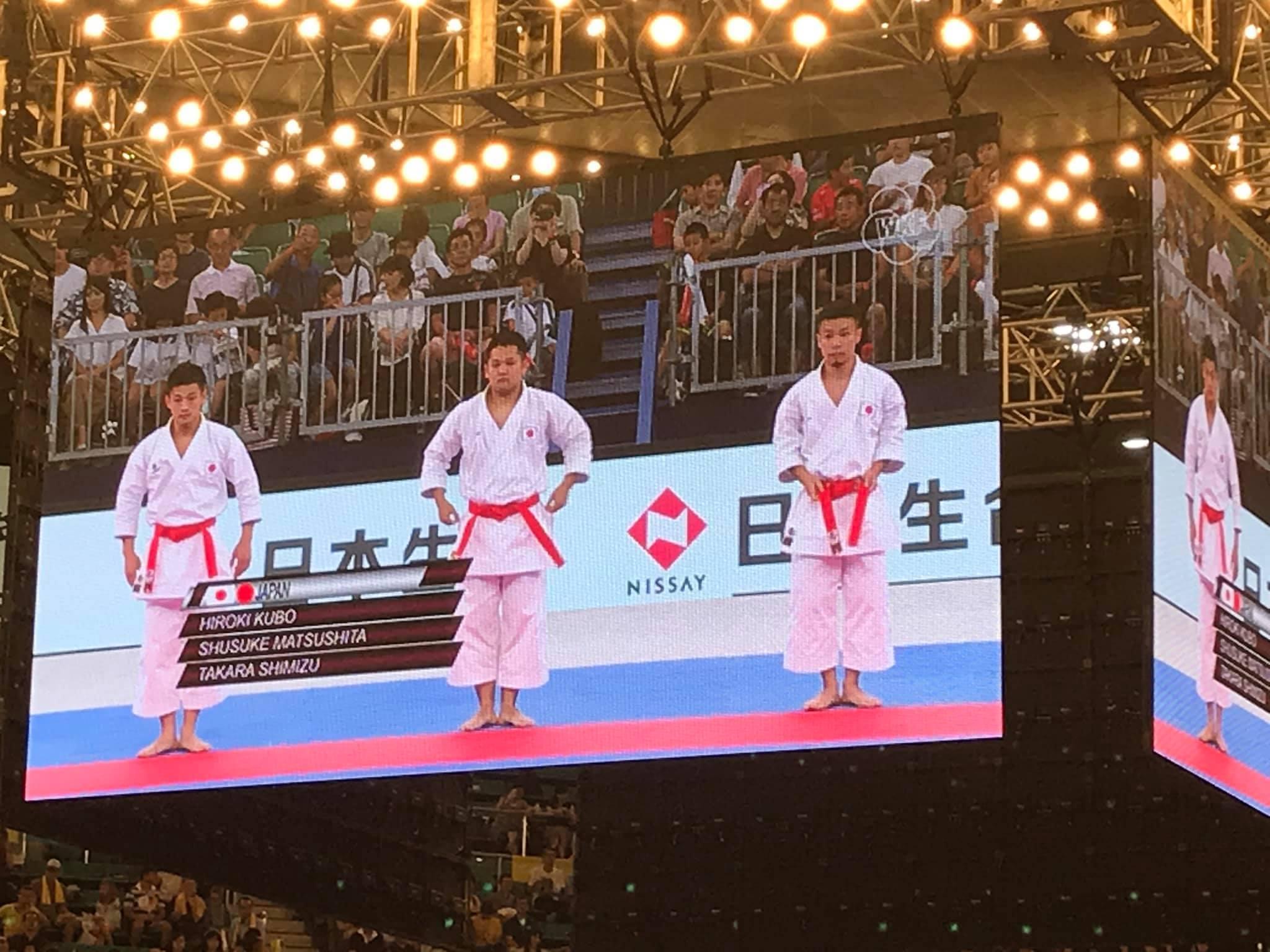 男子団体形第5位  東京プレミア2019  _e0238098_12291114.jpg