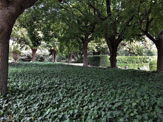 ペドラルベス宮の庭でピクニック_b0064411_07270544.jpg