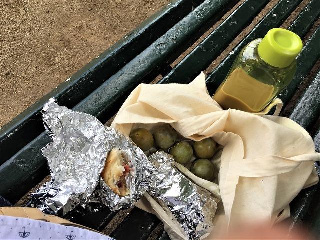 ペドラルベス宮の庭でピクニック_b0064411_07270636.jpg