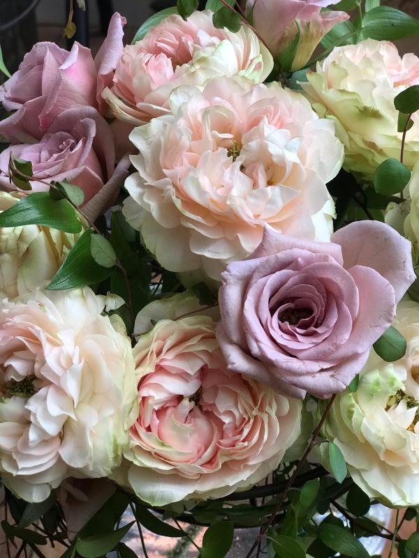 優しいアンティークカラーの薔薇で…_a0157813_17512536.jpg
