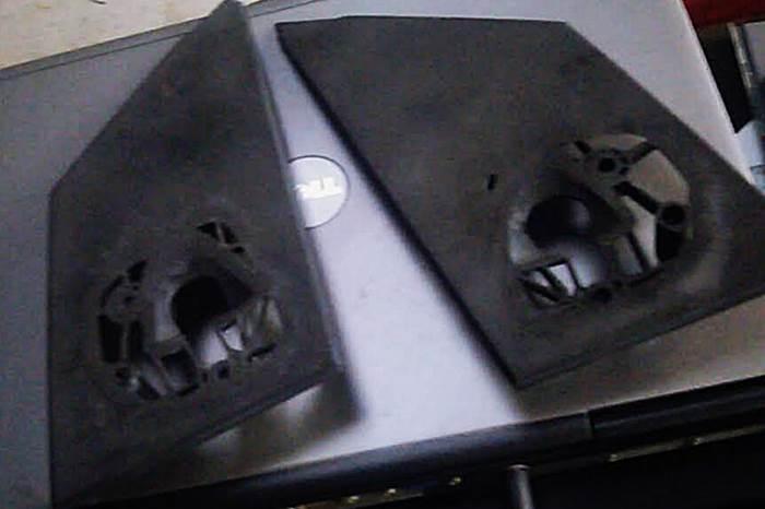 MCCスマート 450用 社外品ドアミラー用 台座改造_d0345614_14524159.jpg