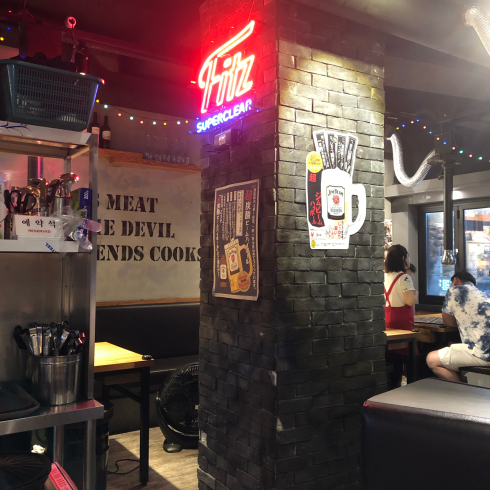 19年8月ソウル その13☆明洞で気持ちよい接客の焼肉屋さん、見つけた!_d0285416_18160437.jpg