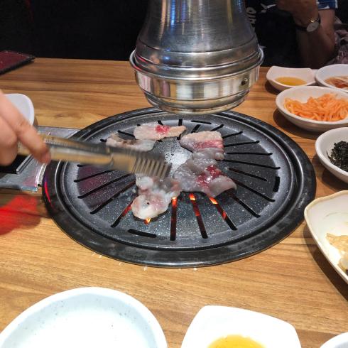 19年8月ソウル その13☆明洞で気持ちよい接客の焼肉屋さん、見つけた!_d0285416_18170529.jpg