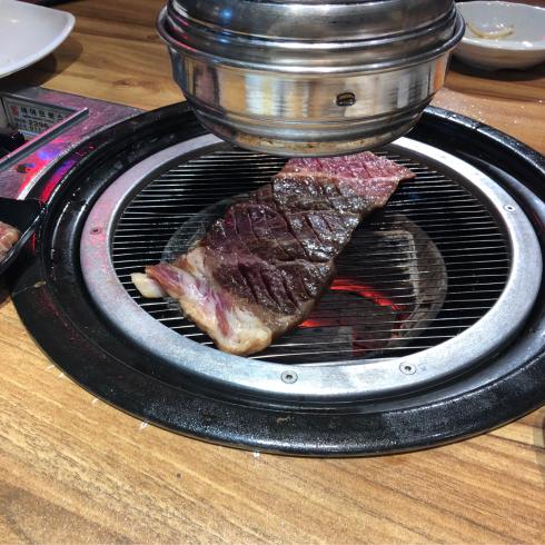 19年8月ソウル その13☆明洞で気持ちよい接客の焼肉屋さん、見つけた!_d0285416_18171323.jpg