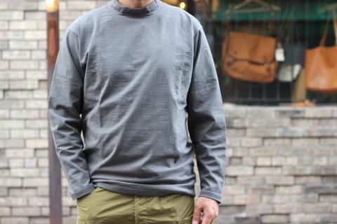"「Jackman」着用する方の事を最大限に考えた \""Stretch L/S Midneck shirt\"" ご紹介_f0191324_07460735.jpg"