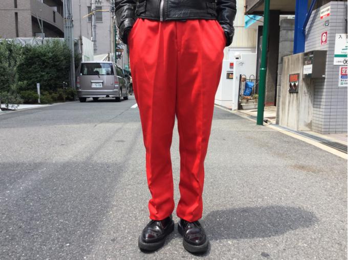 「 不良男子のトラウザースラックス 」_c0078333_13591922.jpg