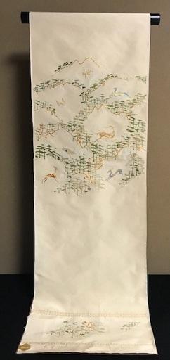 龍村名古屋帯・三眠御召と藤井絞小紋で2通りコーデ。_f0181251_19335082.jpg