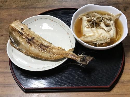 ホッケの干物&あんかけ豆腐_f0350959_21041526.jpeg