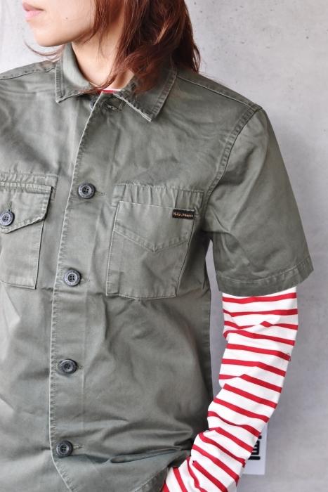 半袖型   SHIRTS JACKET   NUDIE JEANS_d0152280_12173948.jpg