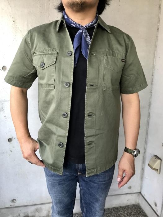 半袖型   SHIRTS JACKET   NUDIE JEANS_d0152280_12240564.jpeg