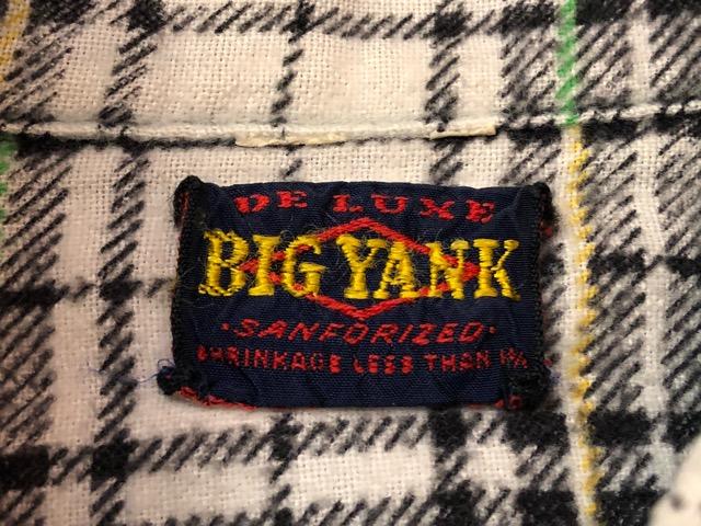 9月11日(水)マグネッツ大阪店ヴィンテージ入荷!!#7 Shirt編!!   BIG YANK & Pilgrim、E&W POLAR、J.C.Penney!!_c0078587_1402762.jpg