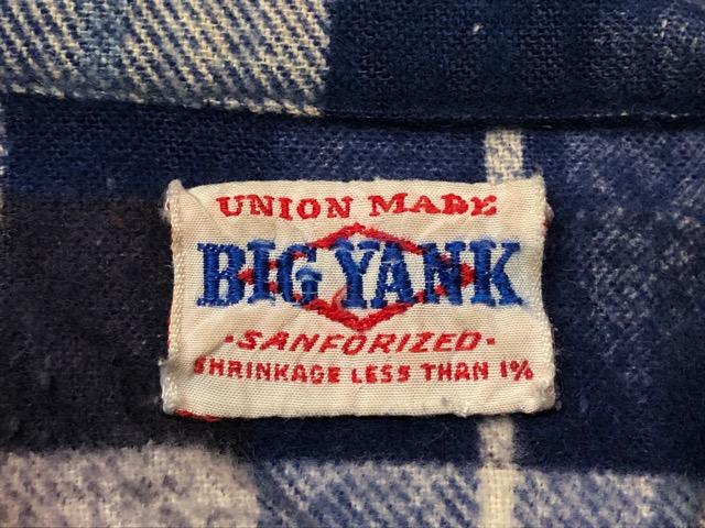 9月11日(水)マグネッツ大阪店ヴィンテージ入荷!!#7 Shirt編!!   BIG YANK & Pilgrim、E&W POLAR、J.C.Penney!!_c0078587_143058.jpg