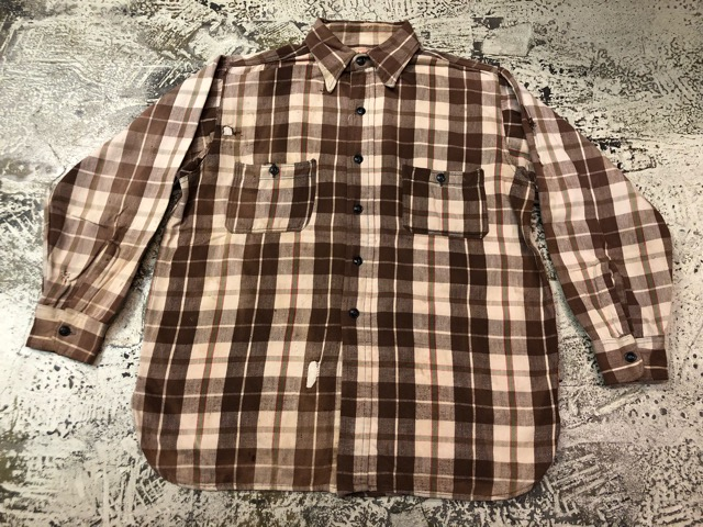 9月11日(水)マグネッツ大阪店ヴィンテージ入荷!!#7 Shirt編!!   BIG YANK & Pilgrim、E&W POLAR、J.C.Penney!!_c0078587_1583512.jpg