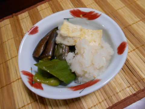 梅干しをビンに保存&なすと豆腐の焼き浸し_f0019498_07202315.jpg