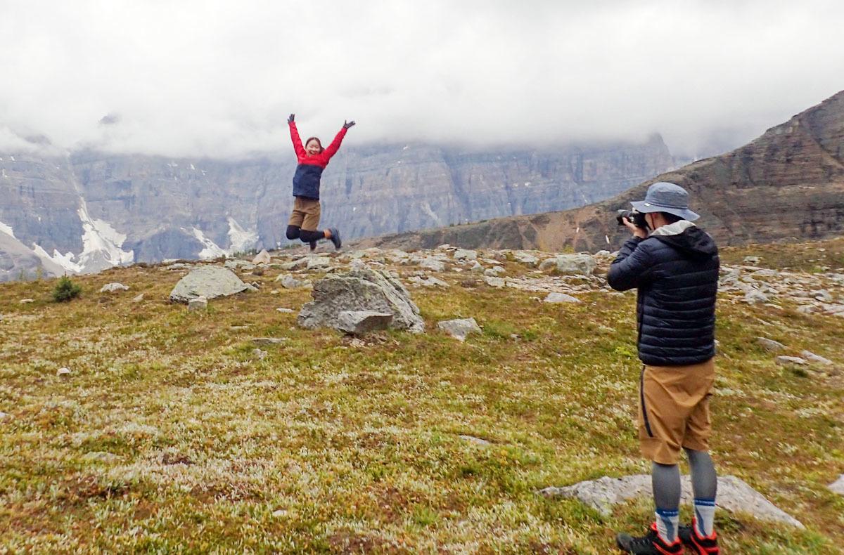 終日の雨予報が見事に外れる!ラーチバレー&ビッグビーハイブ 二日間の日帰りハイキング。_d0112928_02532576.jpg
