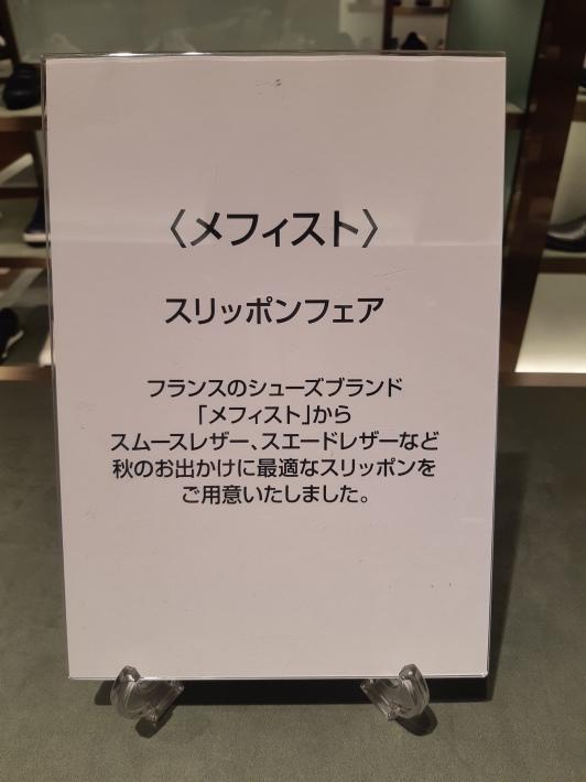 メフィスト【スリッポンフェア】_a0154931_15154157.jpg