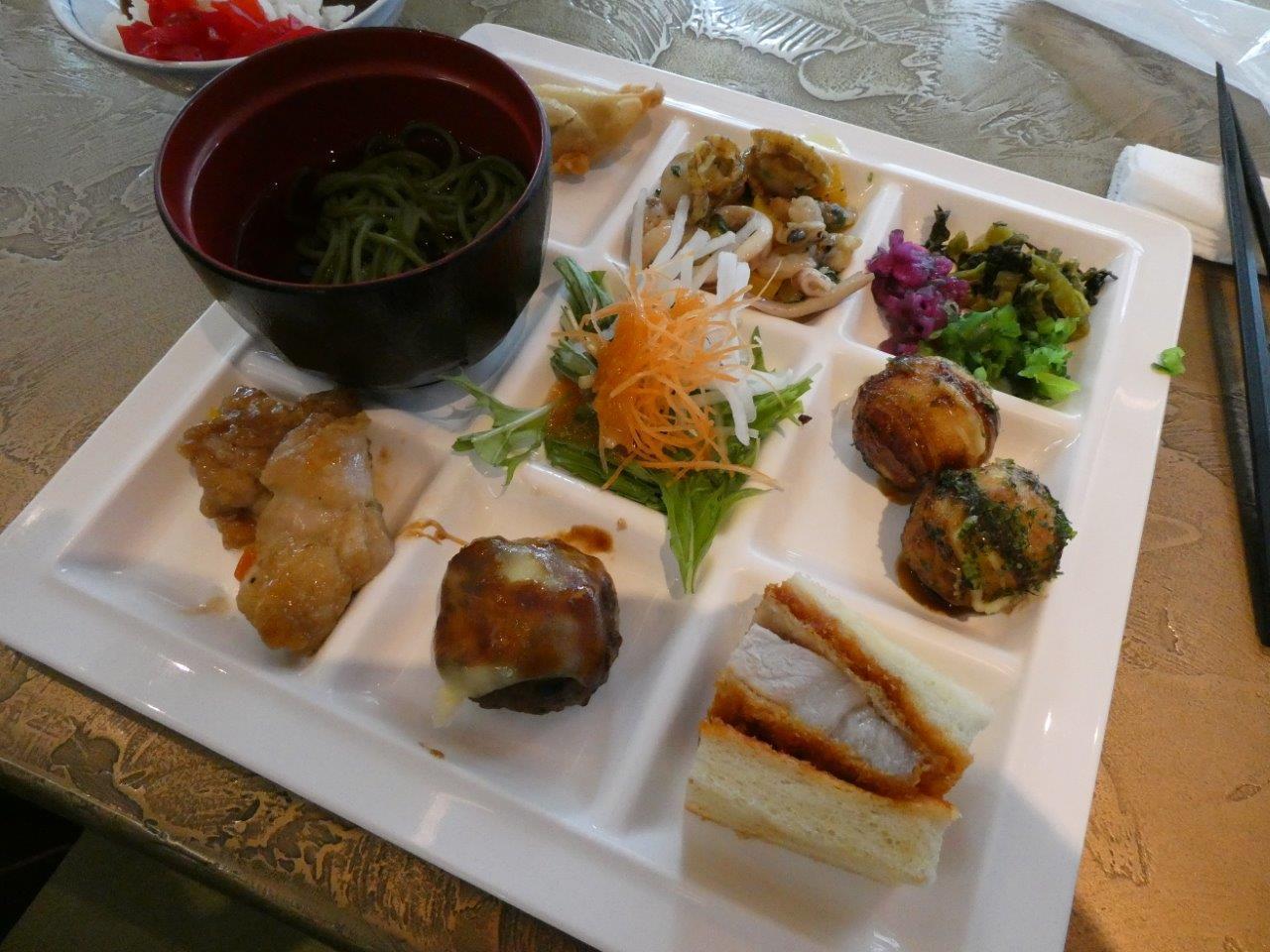 アーバンホテル京都二条プレミアム  cafe lavender_d0106134_22095464.jpg