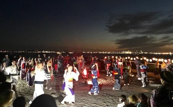 NYのお客さまから・とても素敵なNYの盆踊りの様子。_f0181251_18124939.jpg