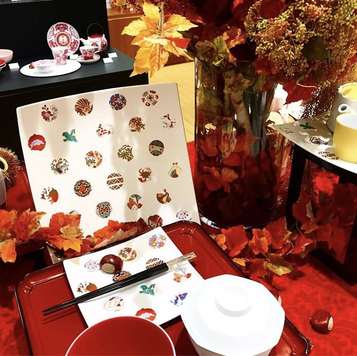 アステロイドで祝う敬老の日の食卓(岩田屋アリタポーセリンラボ)_c0366777_00120737.jpeg