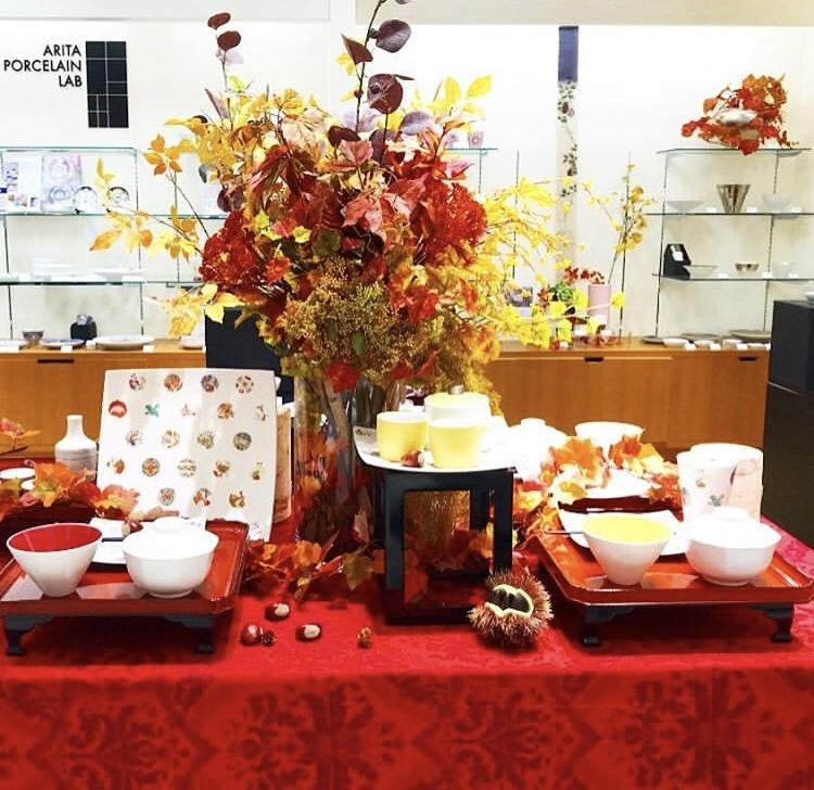 アステロイドで祝う敬老の日の食卓(岩田屋アリタポーセリンラボ)_c0366777_06273954.jpeg