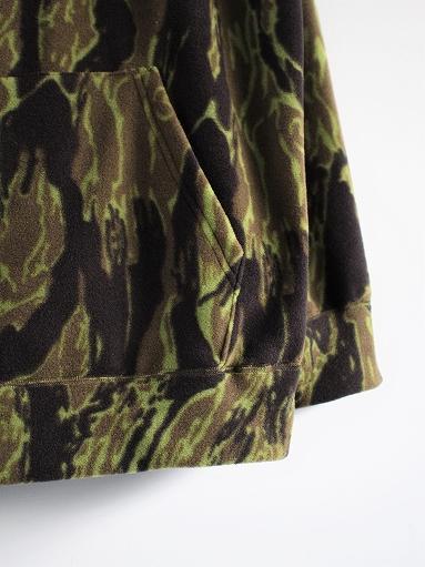 Needles Sportswear Warm-Up Hoodie - Poly Fleece / Tiger Camo Stripe_b0139281_12211369.jpg