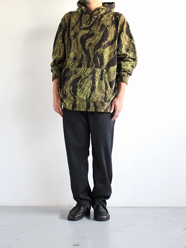 Needles Sportswear Warm-Up Hoodie - Poly Fleece / Tiger Camo Stripe_b0139281_1222290.jpg