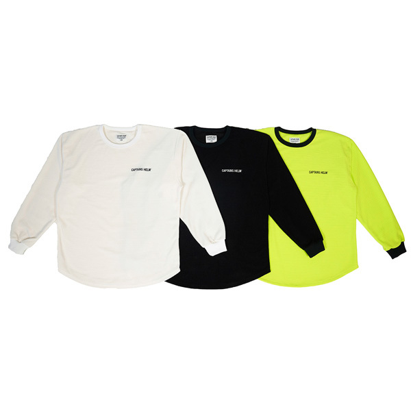 【DELIVERY】 CAPTAINS HELM- #BLOCK THERMAL L/S TEE_a0076701_13340496.jpg