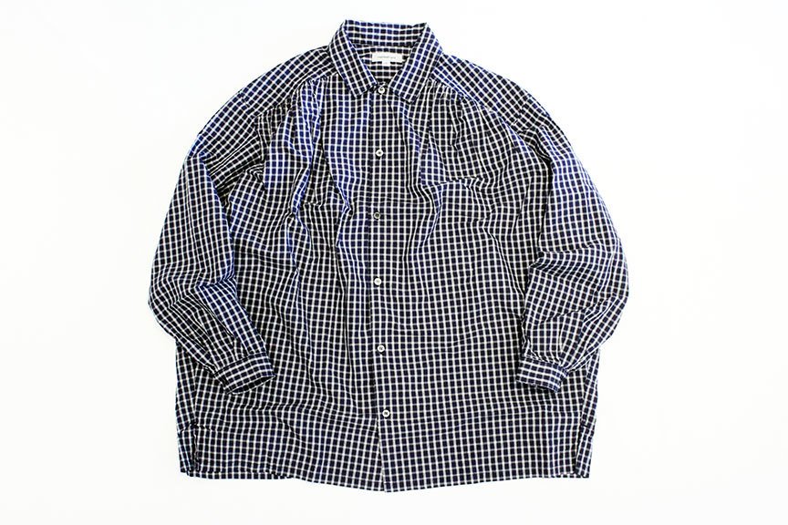 "Ordinary fits (オーディナリーフィッツ) "" GATHER SHIRT \""_b0122806_12424574.jpg"