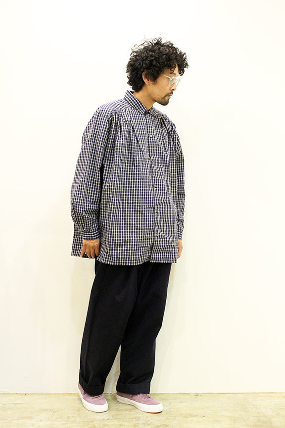 "Ordinary fits (オーディナリーフィッツ) "" GATHER SHIRT \""_b0122806_12431869.jpg"
