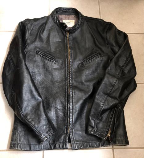 アメリカ仕入れ情報#13 60s BATES motorcycle Jkt ライダースジャケット_c0144020_10561803.jpg