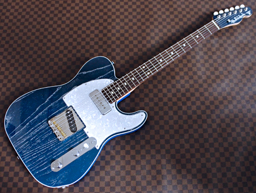 「Zebra Phantom Blue MetallicのSTD-T」の2本目完成!_e0053731_16265791.jpg