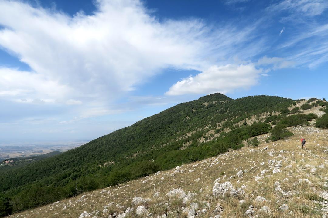 秋色と見晴らしきれいなチェトーナ山、トスカーナ_f0234936_651547.jpg