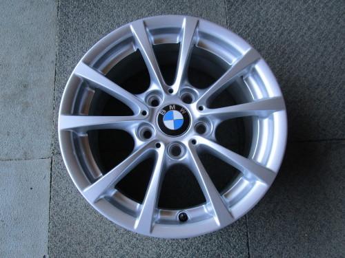 BMW純正ホイール アウターリム曲がり修理_a0196542_07243105.jpg