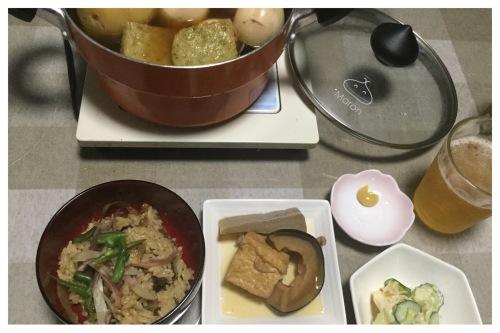 食欲の秋なので料理 & LINEでPC操作指南 & セリアへ_a0084343_09053065.jpeg