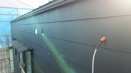『方舟の家』外壁の板金工事が進んでいます。_e0197748_21215734.jpg