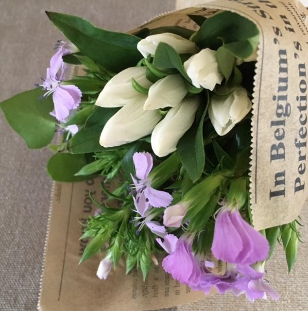 mini bouquet   どんな時も_a0165160_17510644.jpg