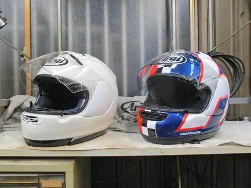 ヘルメットを新調でアライ RX-7Xがやっと入荷ーー!!ヽ(^。^)ノ_c0086965_20475203.jpg