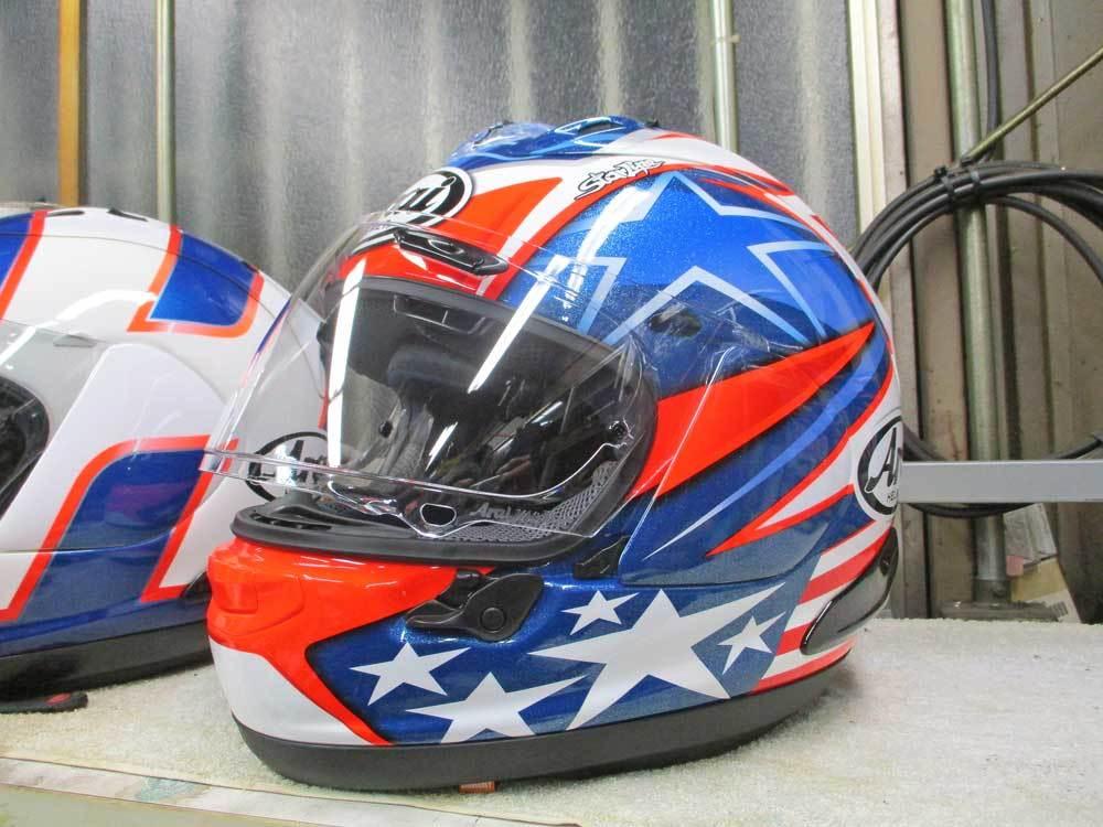 ヘルメットを新調でアライ RX-7Xがやっと入荷ーー!!ヽ(^。^)ノ_c0086965_20475281.jpg
