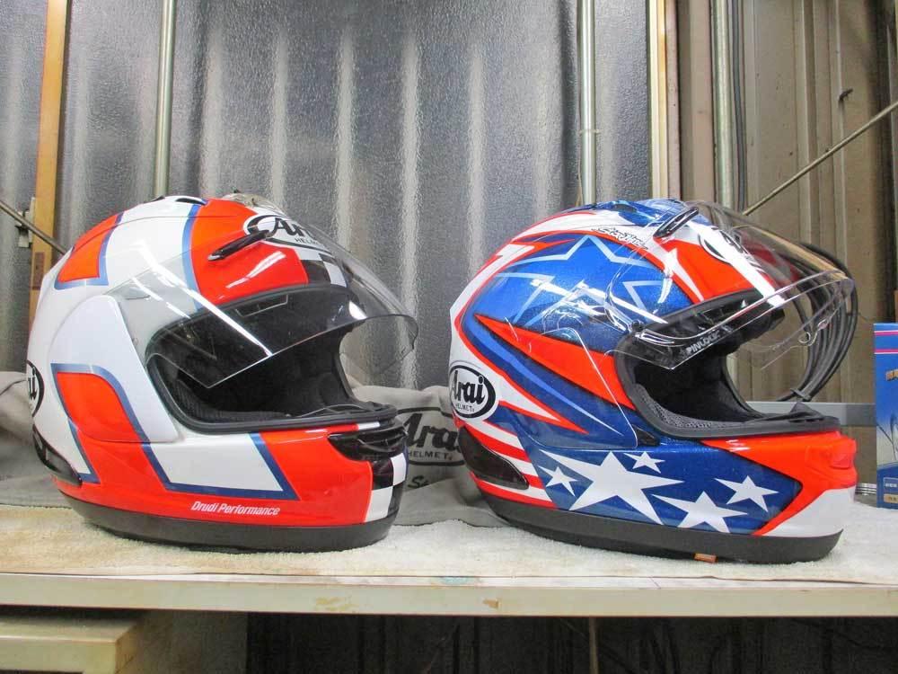 ヘルメットを新調でアライ RX-7Xがやっと入荷ーー!!ヽ(^。^)ノ_c0086965_20475288.jpg
